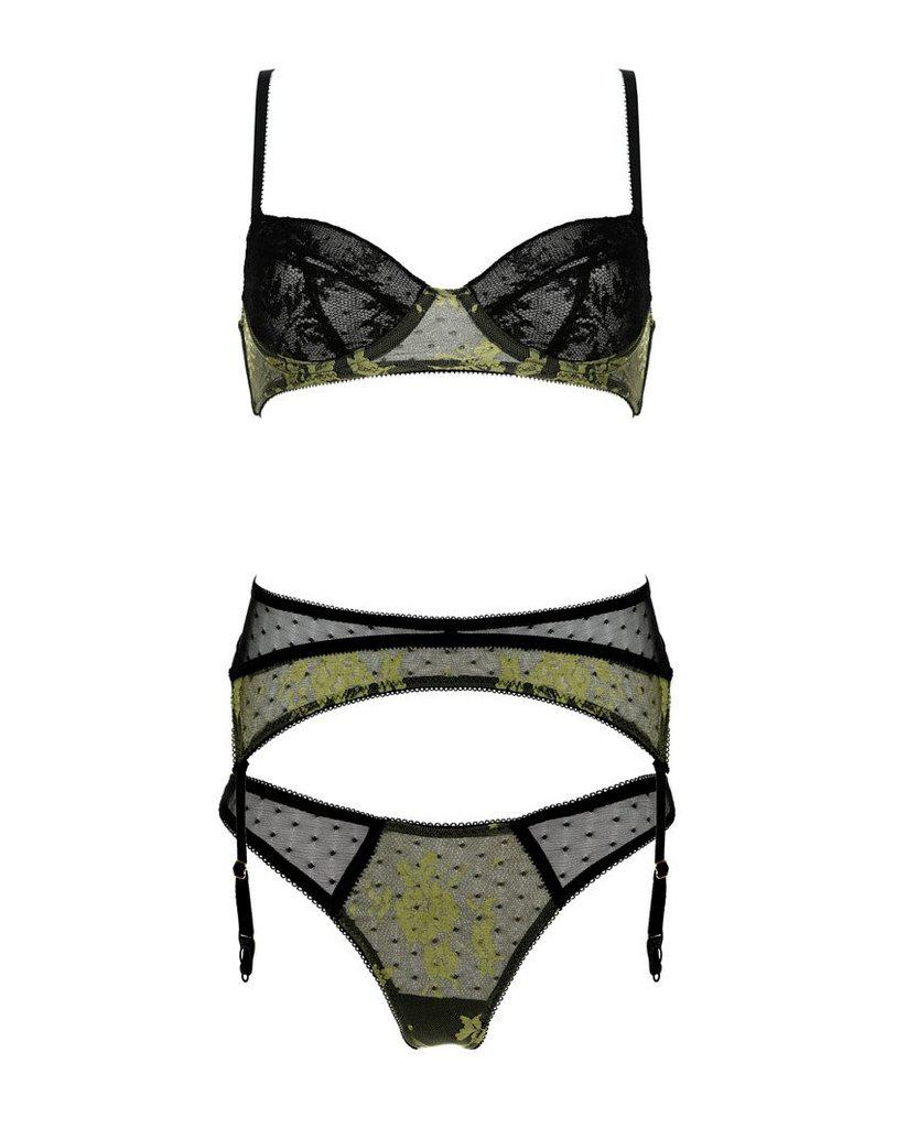 Rita Pistachio French Knickers