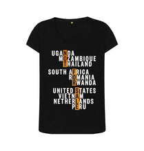 Load image into Gallery viewer, Black Global Fight - Ladies' Tee