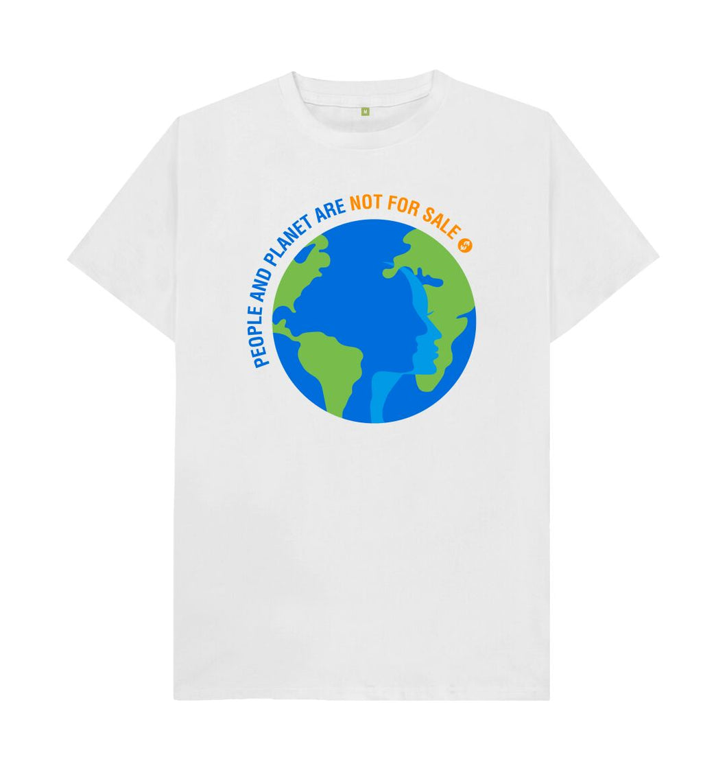 White People And Planet - Men's Tee