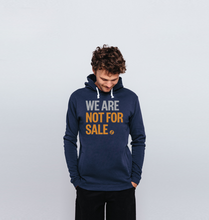 Load image into Gallery viewer, We Are Not For Sale - Men's Hoodie