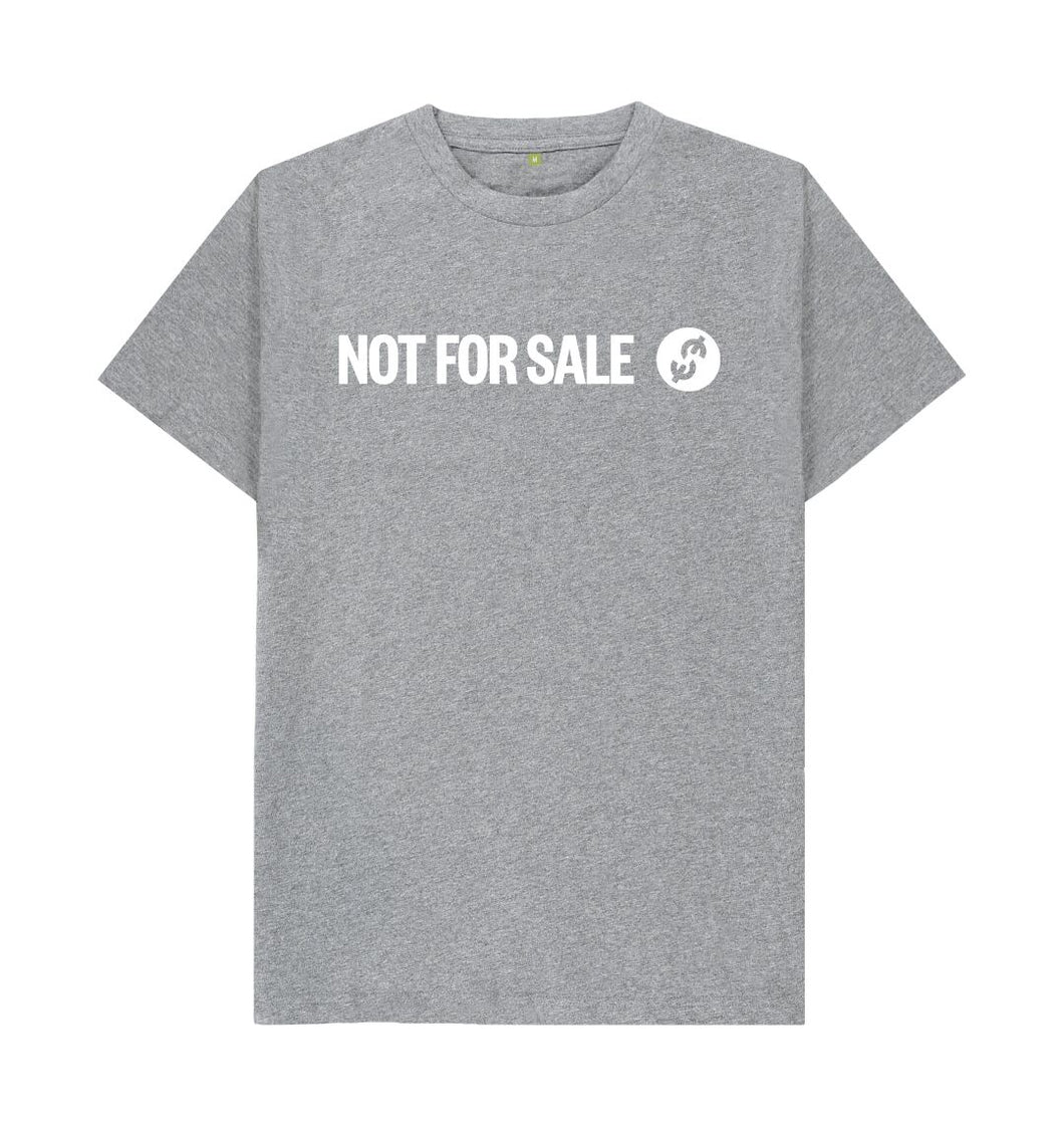 Athletic Grey Official Not For Sale - Men's Tee