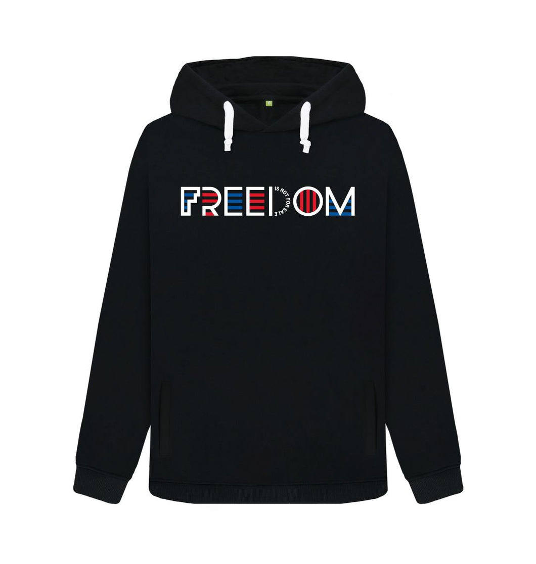 Black Freedom Is Not For Sale - Ladies' Hoodie