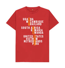 Red Global Fight - Men's Tee