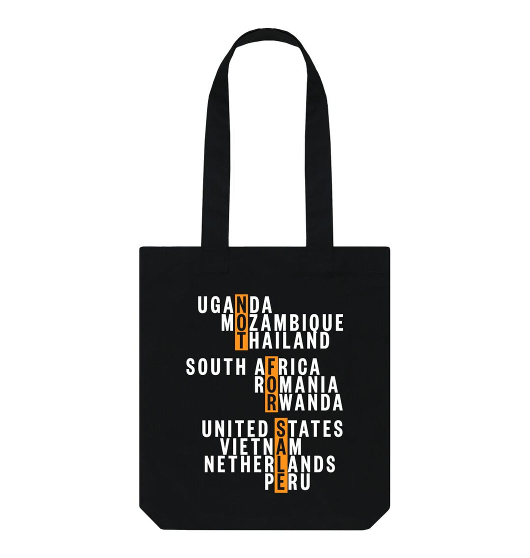 Black Global Fight - Organic Tote