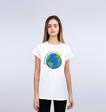 Load image into Gallery viewer, People And Planet - Ladies' Crew Neck Tee