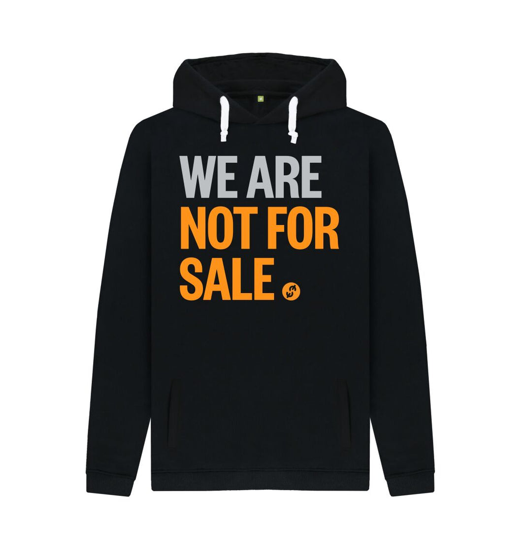 Black We Are Not For Sale - Men's Hoodie