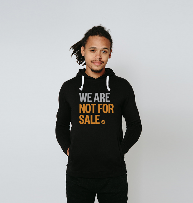 We Are Not For Sale - Men's Hoodie