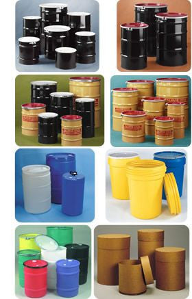 Drums, Pails, and Containers