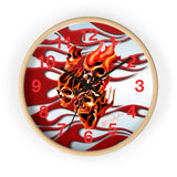 "MV Collection ""Skulls and Flames"" Wall clock"