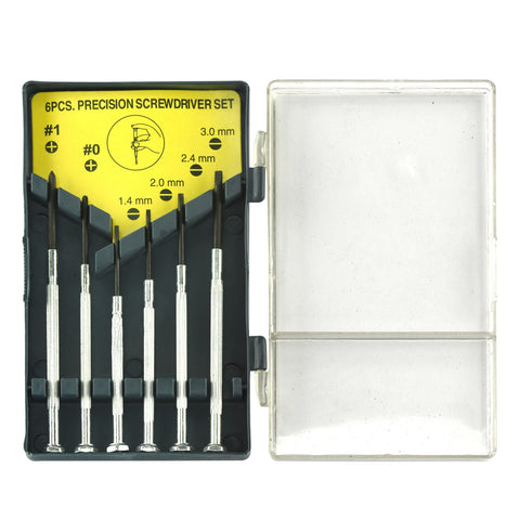 Ridge Rock Tools 1940 6 Piece Precision Screwdriver Set