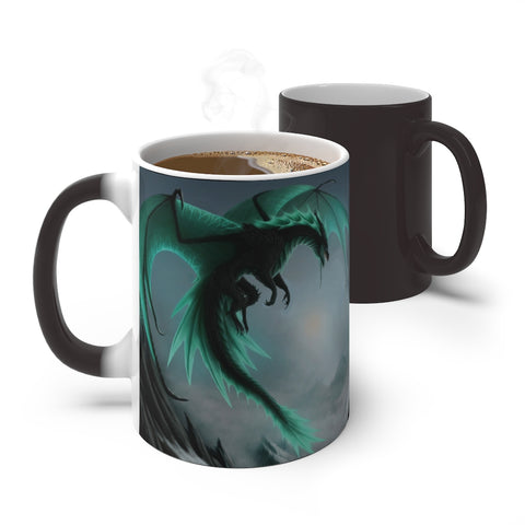 "MV Collection ""Green Dragons Color Changing Mug"