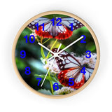"MV Collection ""Blue Butterfly"" Wall clock"