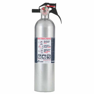 Kidde 21006287N Auto FX 5 II 2# BC Disposable Fire Extinguisher