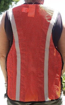 Thermotux Cooling Vest Size Small TTY-OS, Thermo Tux 100% Cotton, Orange