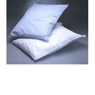 "Medline NON24345 Disposable Tissue/Poly  pillowcases 21"" X 30"" White 100/PK"