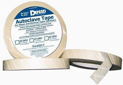 Defend AT-2001 Autoclave 1/2 Inch Sterilization Tape 1 Each