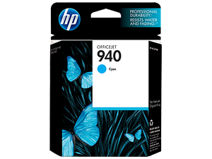 HP 940 Cyan Ink Cartridge (C4907AN), High Yield New Original In Box