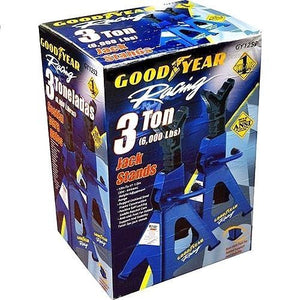 Goodyear Racing GY1252 3 Ton (6000 LBS) Jack Stands