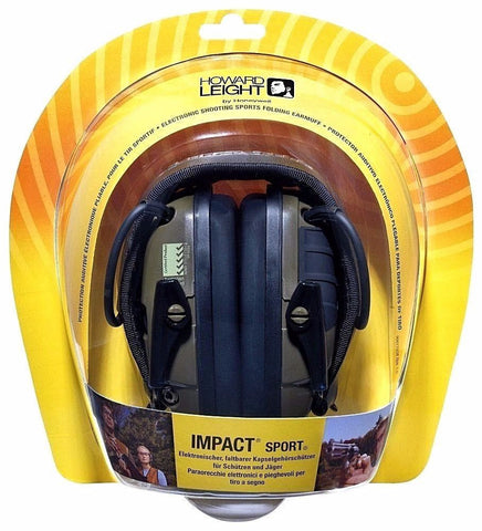 Howard Leight R-01526 Sports Shooting Amplified Earmuffs 25 NRR