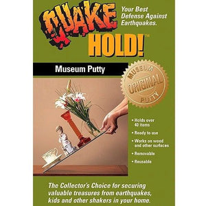 Quake Hold 88111 Museum Putty Earthquake Supplies