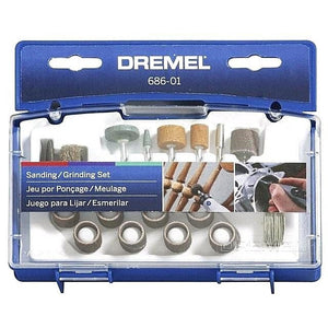 Dremel 686-01 31-Piece Sanding / Grinding Accessory Kit
