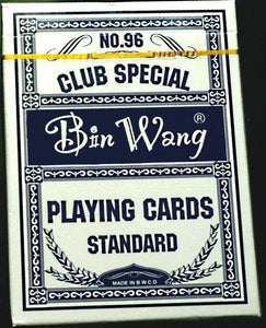 BIN WANG Premium Casino Quality Deck Club Special Playing Cards