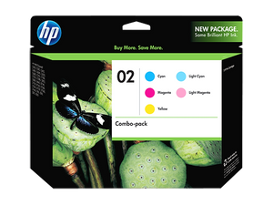 HP CC604FN #140 02 Color Combo Pack 5 Cartridges New In Box Genuine HP