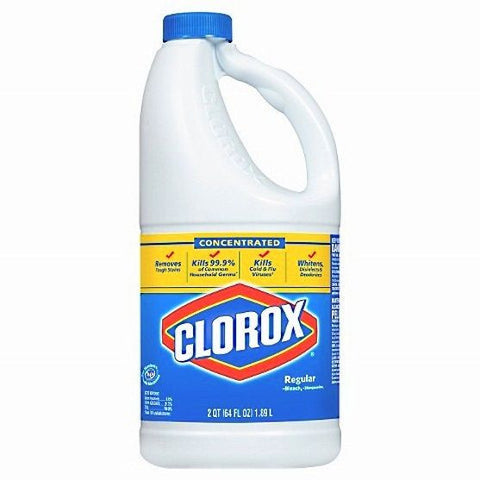 Clorox® 131796 64 oz. Concentrated Regular Bleach