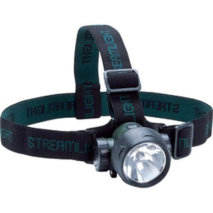 Streamlight 61051SL Trident Green LED Headlamp W/ Elastic/Rubber Hard Hat Strap