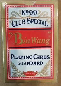 Bin Wang PC52 Club Special, Standard Playing Cards
