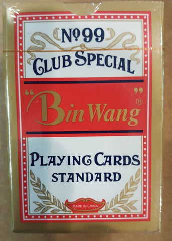 BIN WANG PC52 Premium Casino Quality Deck Club Special Playing Cards