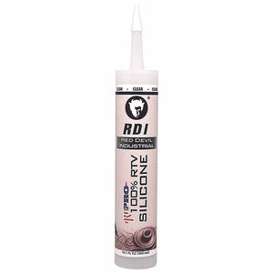 Red Devil 0826 100% Silicone Sealant Clear 10.3 Oz  Cartridge