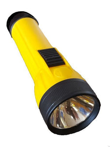 Lumilite Industrial Heavy-Duty 2D Flashlight, Yellow/Black