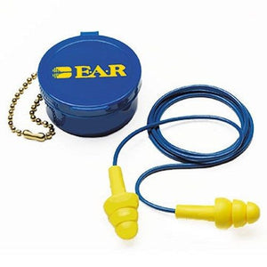 E.A.R. 340-4002 Ultra-Fit Corded Earplugs with Carry Case, 50 Count