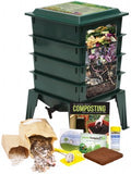 Natures Footprint Worm Factory 360 Vermicomposting Bin (Black Gold!)