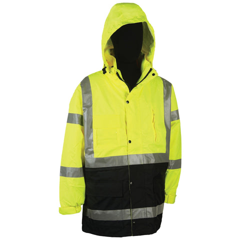 2W 736C 100% Water Proof Rain Parka