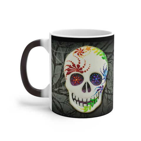 "MV COllection ""Surgar Skull""Color Changing Mug"