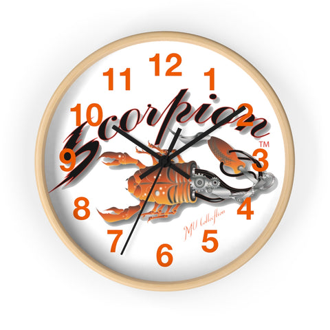 "MV Collection ""Tattoo Scorpion"" Wall clock"