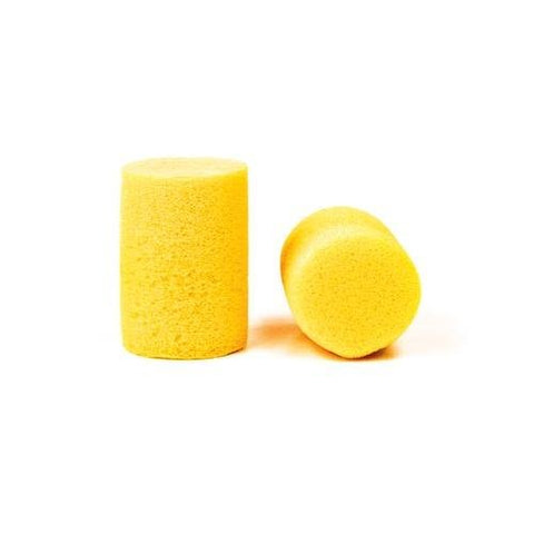 3M 310-1001 E-A-R Classic Uncorded Earplug, Pillow Pack, Yellow (Pack of 200)