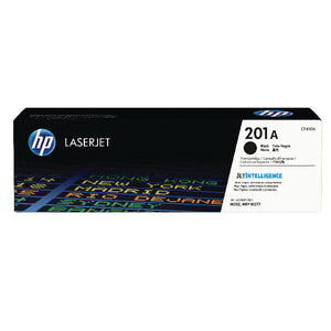 HP CF400A LaserJet Print Cartridge 201A