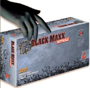Dash Medical BMN Black Maxx Nitrile PF Examination Gloves