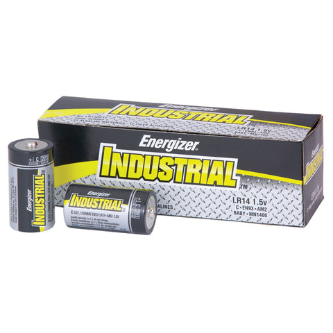 Energizer EN93  Max Alkaline C-Cell Industrial Batteries 12 Pack