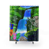 "MV Collection ""Spring Shower"" Shower Curtains"