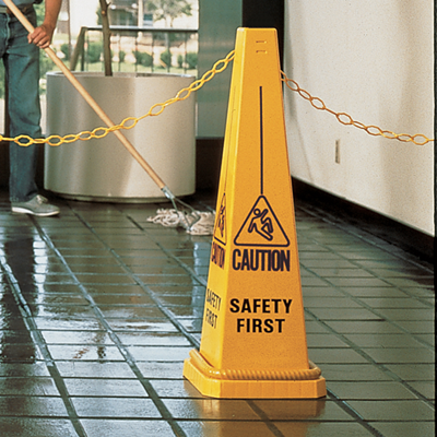 AAC-3000481 Caution Safety First - Safety Control Cone