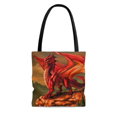"MV Collection ""Red Dragon"" AOP Tote Bag"
