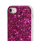 "MV Collection ""Pink Glitter"" Flexi Cases"