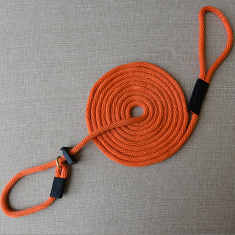 BRITISH STYLE SLIP TRAINING LEAD - 15 FEET