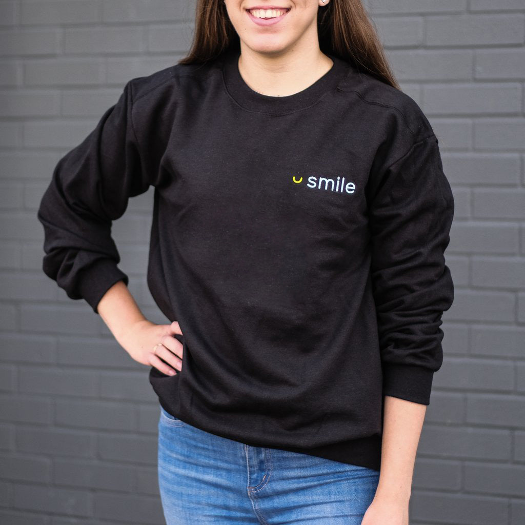 Smile.io Crewneck Sweater