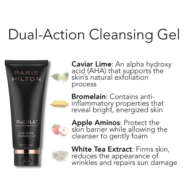 Dual Action Cleansing Gel