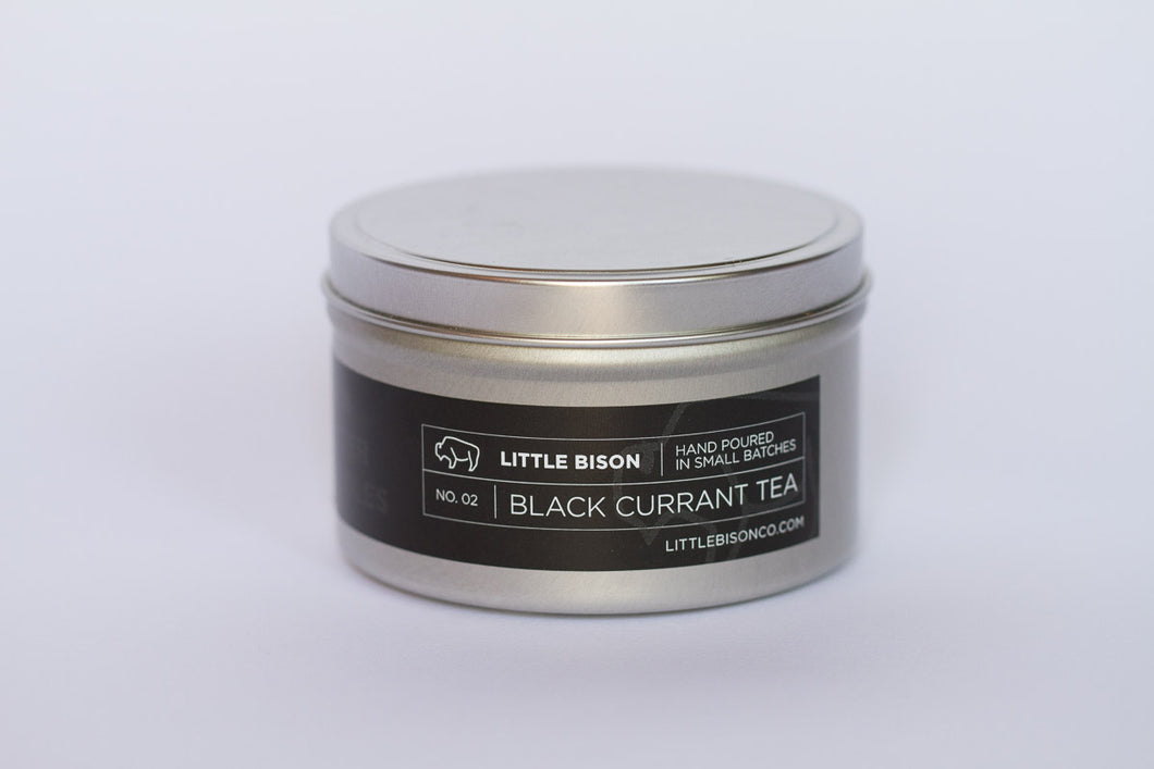 No. 02: Black Currant Tea Soy Candle